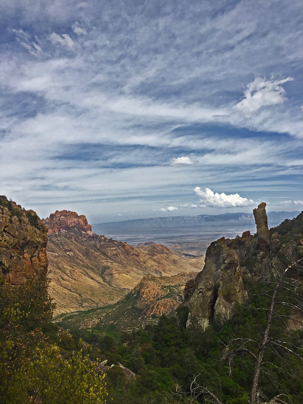 """The Boot"" pinnacle in Boot Canyon in Big Bend National Park"